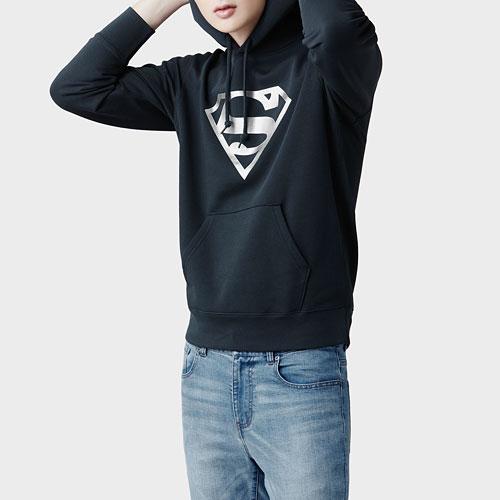 Superman刷毛連帽衫-03-男