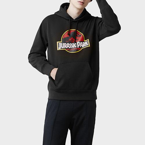 Jurassic World刷毛連帽衫-04-男