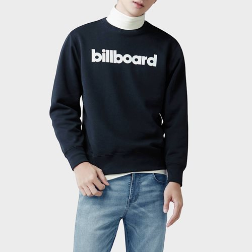 billboard刷毛圓領衫-03-男