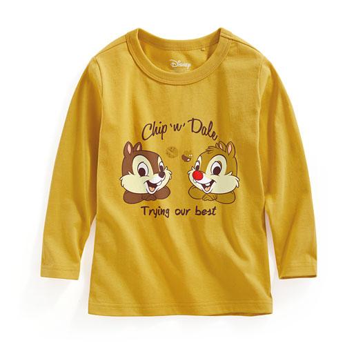迪士尼系列長袖印花T恤-01-童