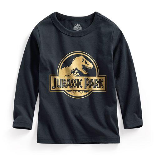 Jurassic World長袖印花T恤-01-童