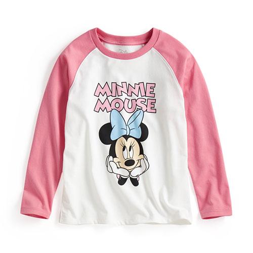 迪士尼系列拉克蘭長袖印花T恤-04-童
