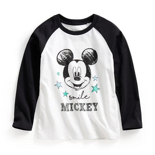迪士尼系列拉克蘭長袖印花T恤-02-童