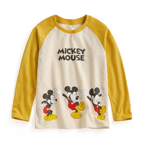 迪士尼系列拉克蘭長袖印花T恤-06-童