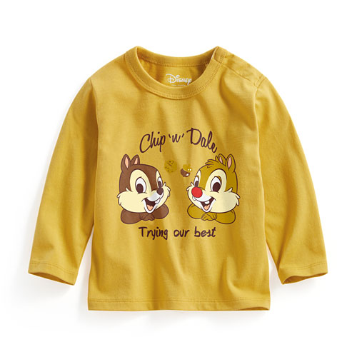 迪士尼系列長袖印花T恤-01-Baby