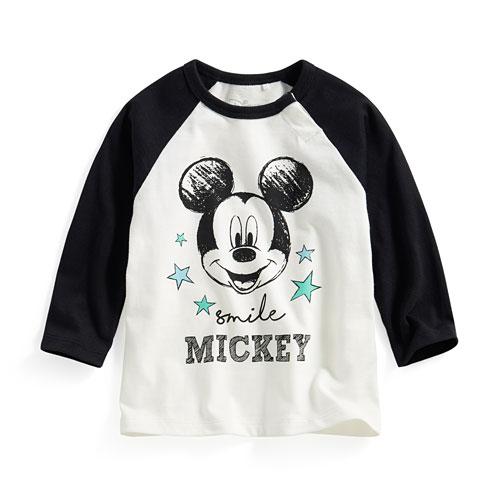 迪士尼系列拉克蘭長袖印花T恤-02-Baby