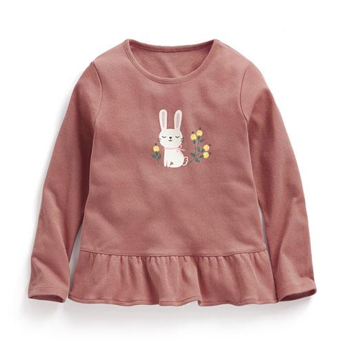 純棉花式T恤-童
