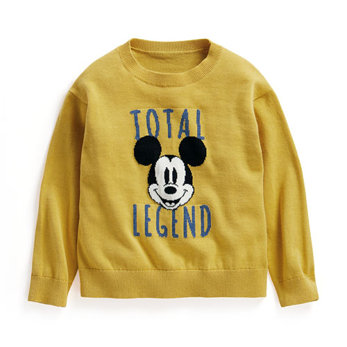 迪士尼系列提花毛衣-02-童
