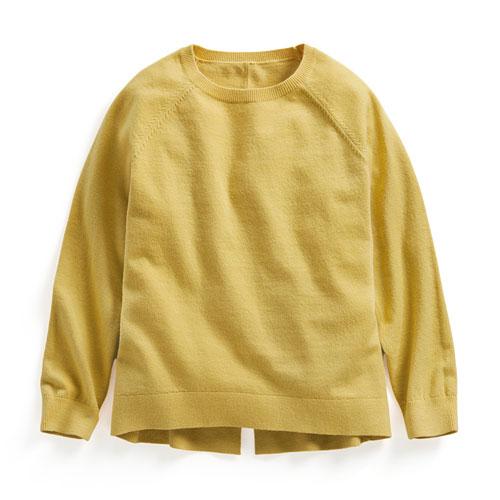 柔軟長袖毛衣-童