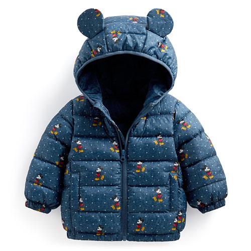 迪士尼系列鋪棉連帽外套-Baby