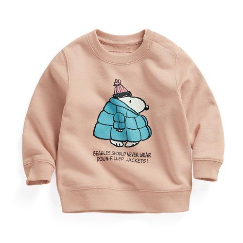 史努比毛圈圓領衫-04-Baby