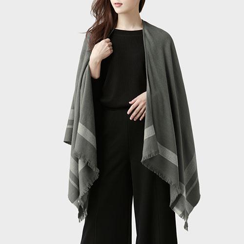兩用圍巾-女