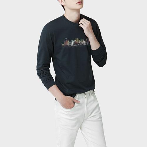 billboard長袖印花T恤-03-男