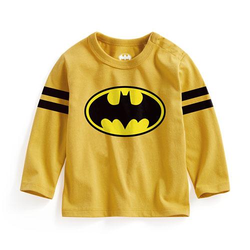 Batman長袖印花T恤-02-Baby