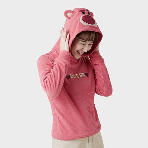 皮克斯系列Fleece造型連帽衫-女