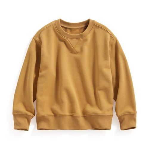 棉質毛圈圓領衫-童