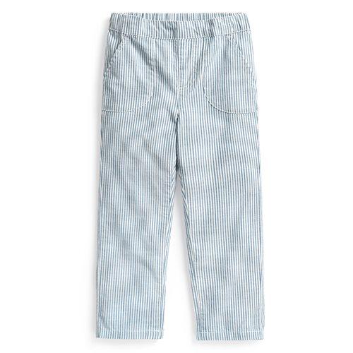 純棉口袋長褲-童