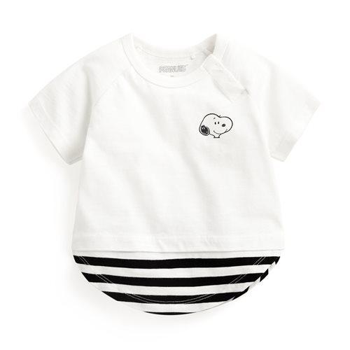 史努比系列竹節棉上衣-Baby