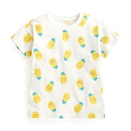 竹節棉水果寬鬆T恤-童