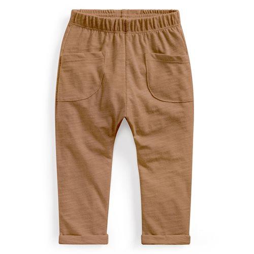 竹節棉口袋長褲-Baby