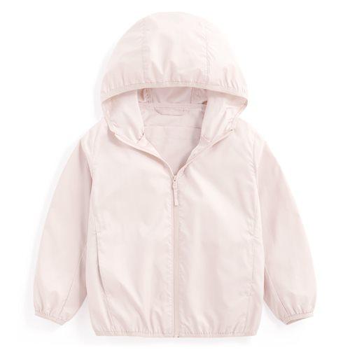 抗UV輕型風衣外套-童