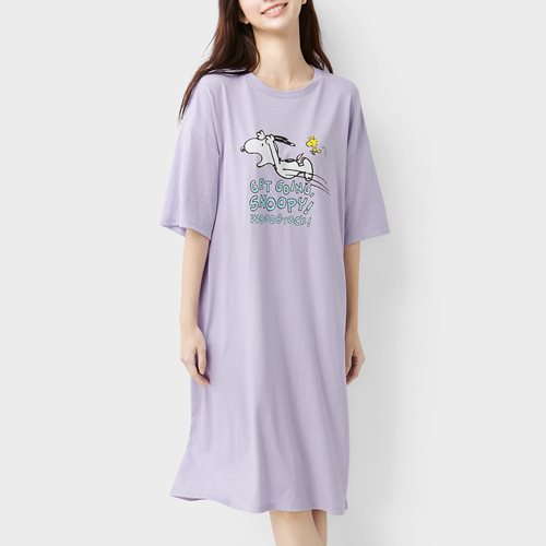 史努比系列莫代爾家居洋裝-女