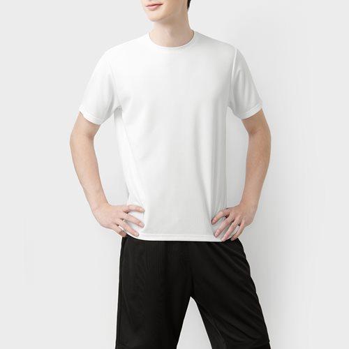 吸排圓領T恤-男