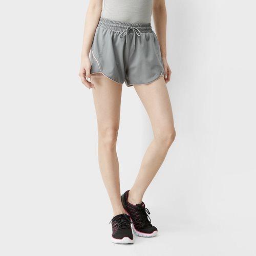 吸排假兩件短褲-女