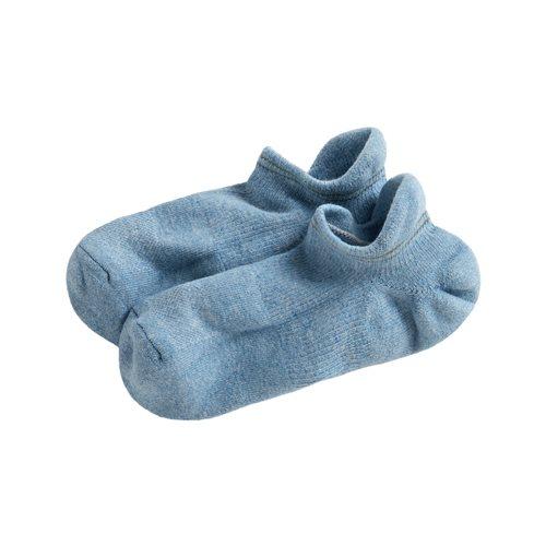 毛圈運動踝襪-男
