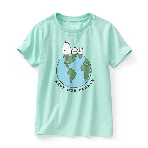 史努比系列印花T恤-04-童