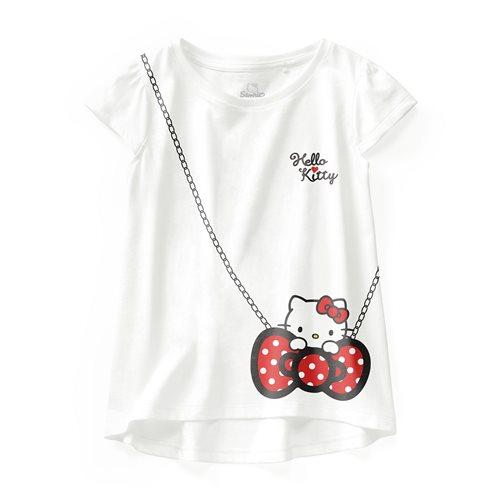 Hello Kitty印花T恤-15-童