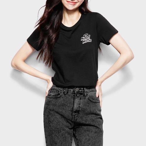 迪士尼系列印花T恤-10-女