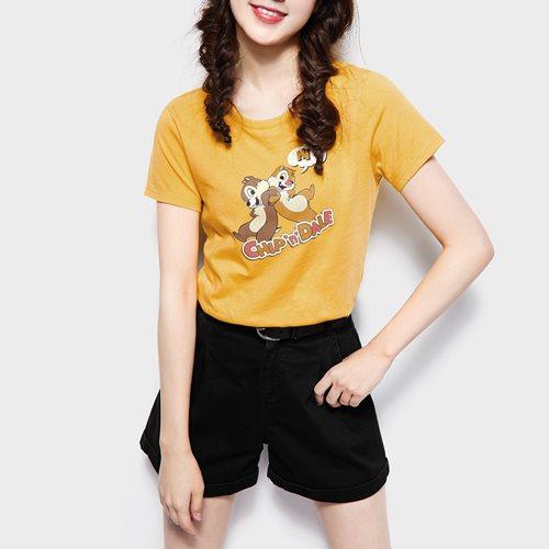 迪士尼系列印花T恤-17-女