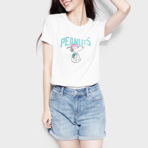 史努比系列印花T恤-20-女