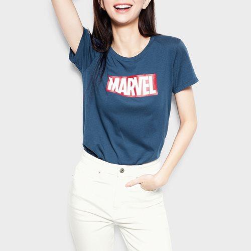 漫威系列印花T恤-01-女