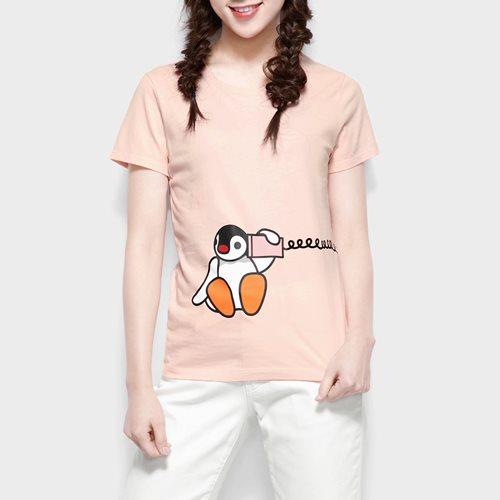 PINGU印花T恤-08-女