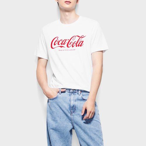可口可樂印花T恤-01-男