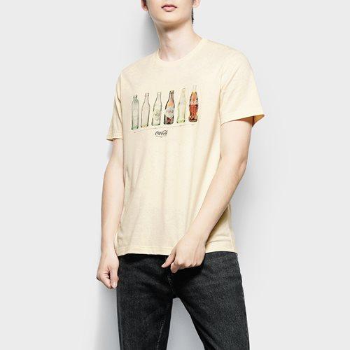 可口可樂印花T恤-05-男