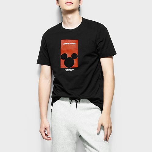 迪士尼系列印花T恤-05-男