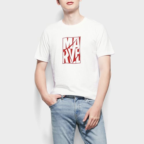 漫威系列印花T恤-03-男