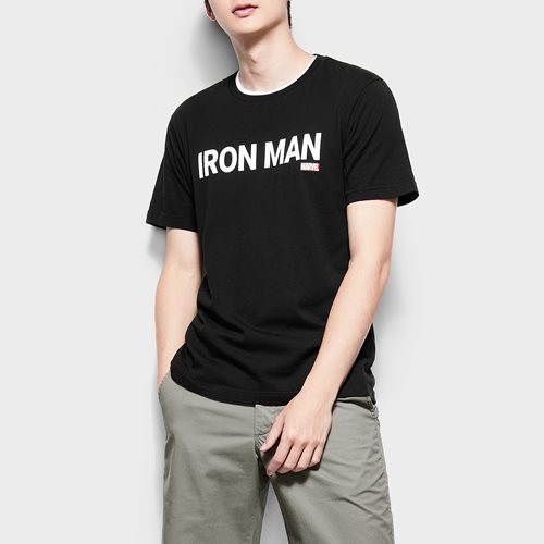漫威系列印花T恤-06-男
