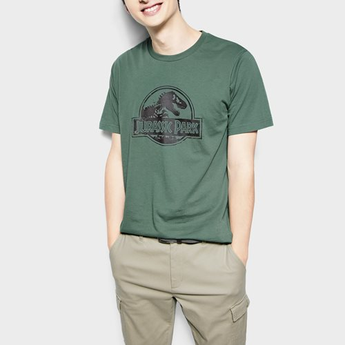 Jurassic World印花T恤-10-男