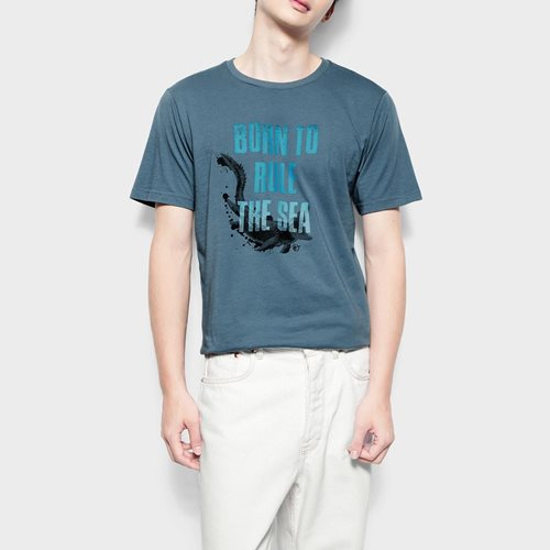Jurassic World印花T恤-06-男