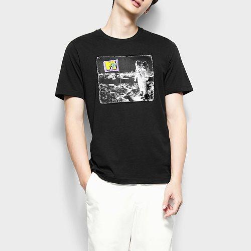 MTV印花T恤-08-男