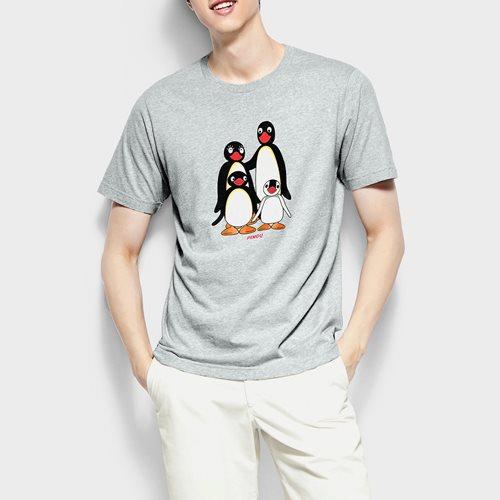 PINGU印花T恤-01-男