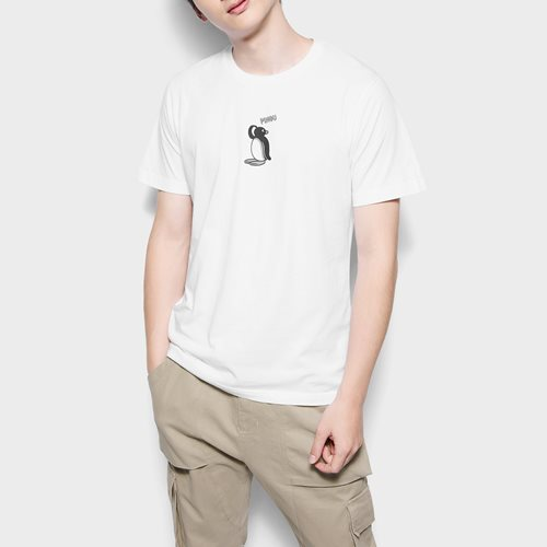 PINGU印花T恤-02-男