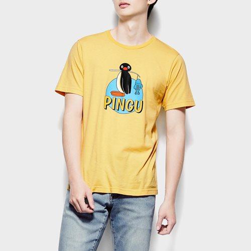 PINGU印花T恤-03-男