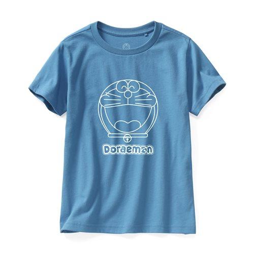 哆啦A夢印花T恤-01-童
