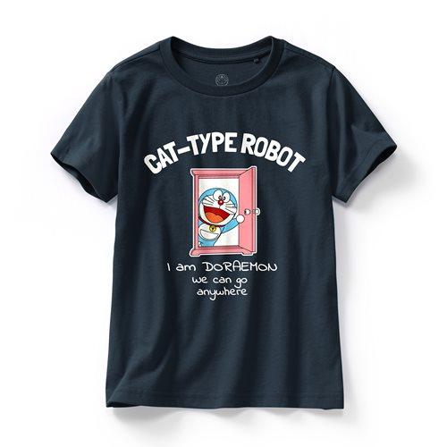 哆啦A夢印花T恤-21-童