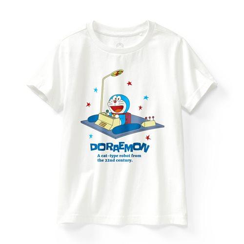 哆啦A夢印花T恤-04-童